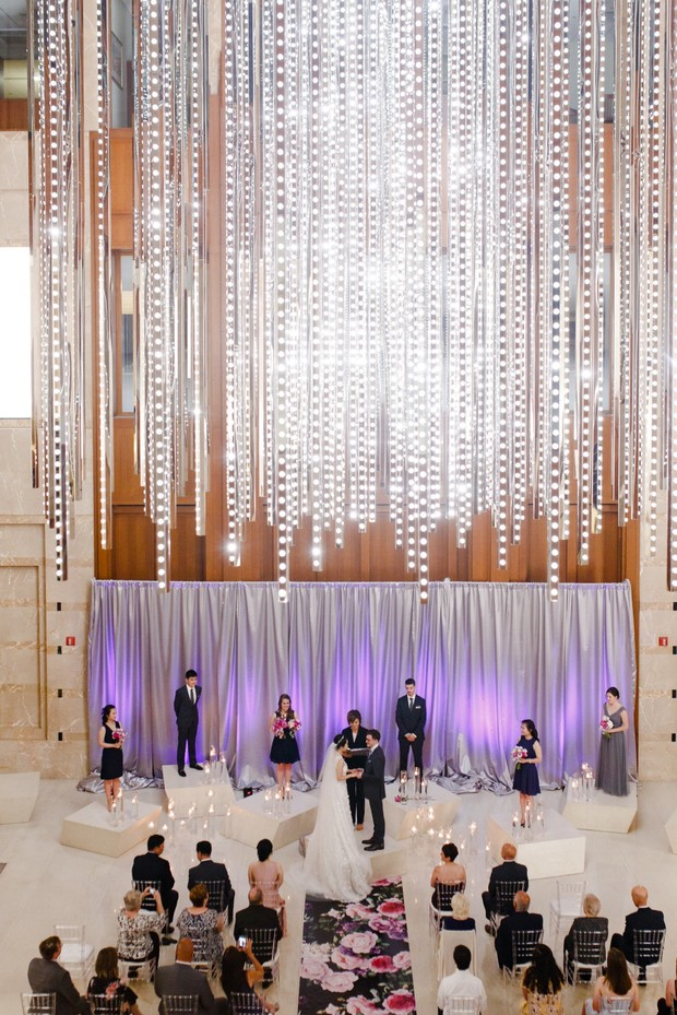 modern wedding in Chicago