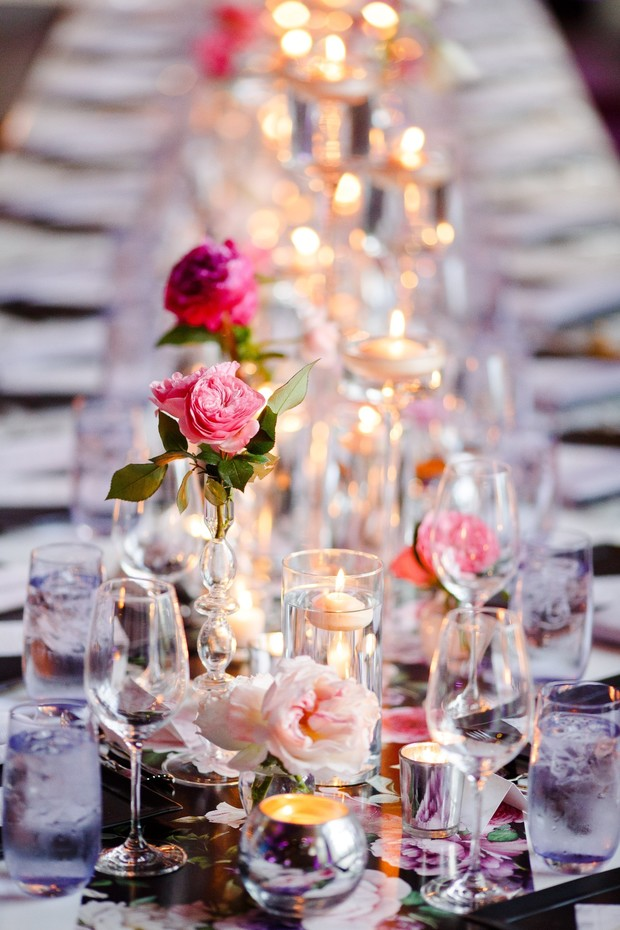 modern wedding table design