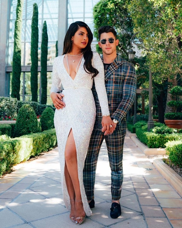 Priyanka Chopra's BBMA Gown Was All the Bride Goals