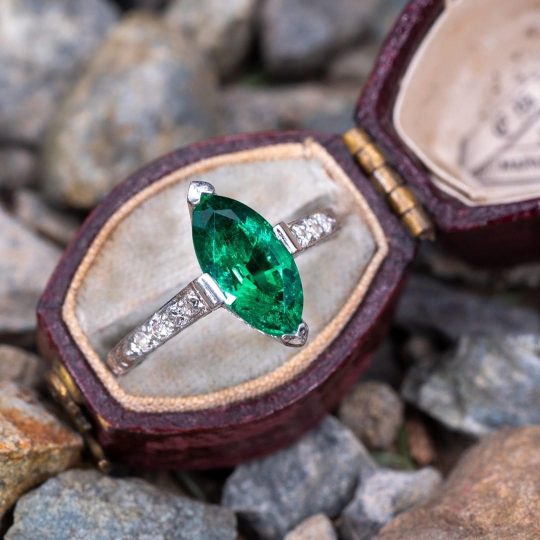 Emerald is the birthstone of May. Who is lucky enough to have a May birthday?