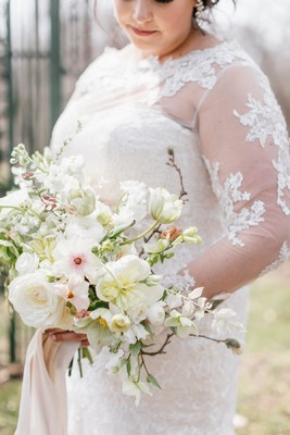 Naturally Elegant Early Spring Wedding