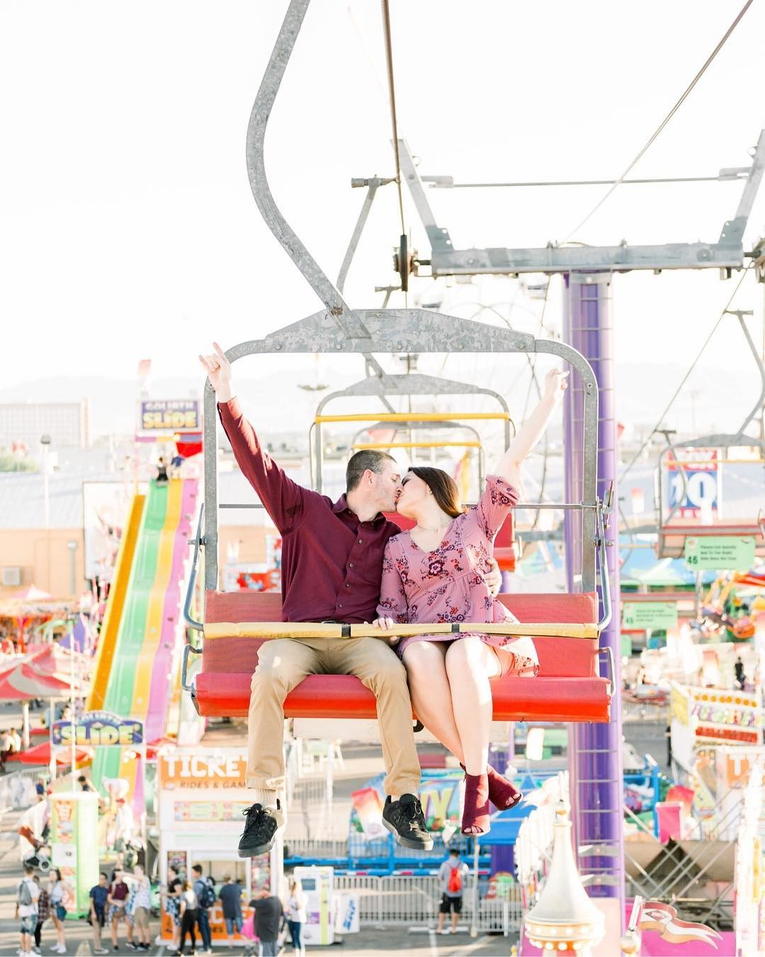 Skylift for your engagement session, anyone?!