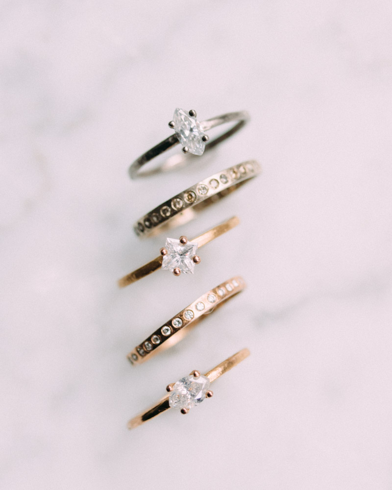 Looking for the perfect ring. Come take a look. Handmade with ethical diamonds.