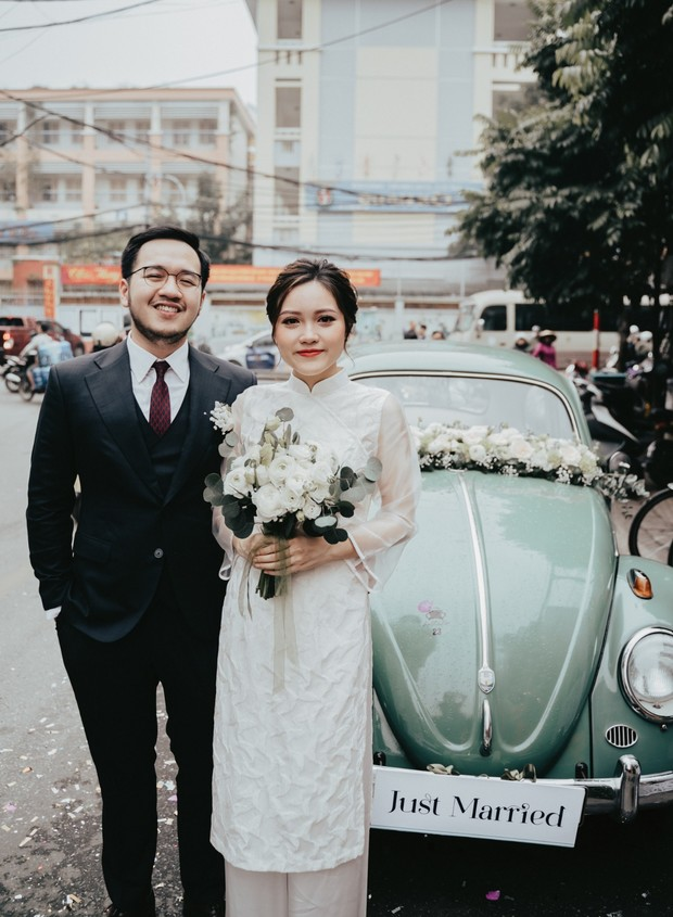 Chic wedding in Hanoi