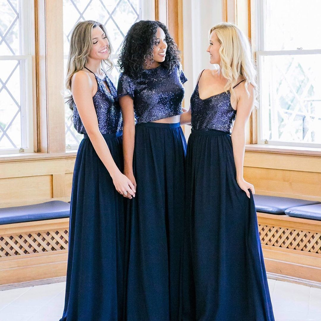 Beautiful blues, sparkling separates, & forever friends.💙