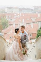 Blush Pink Wedding in Prague