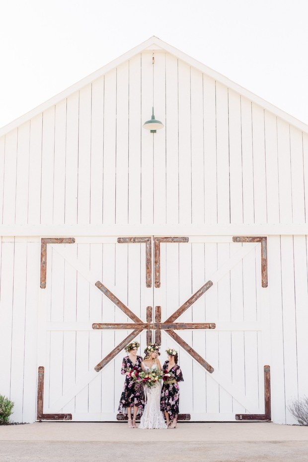 barn boho wedding