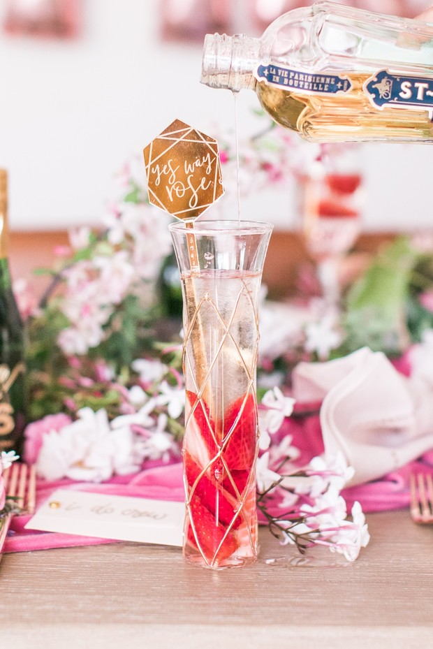 bridal shower cocktail