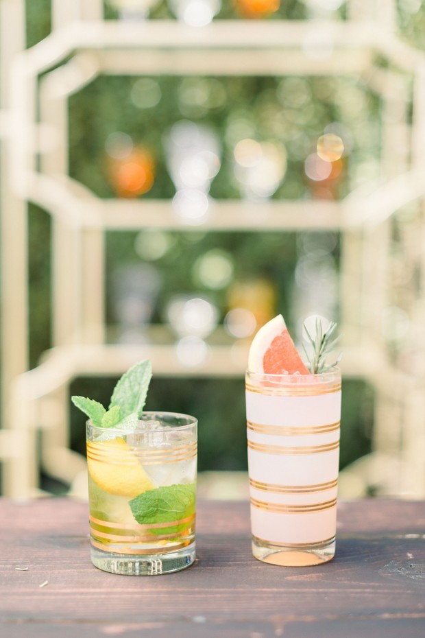 fruity wedding cocktails