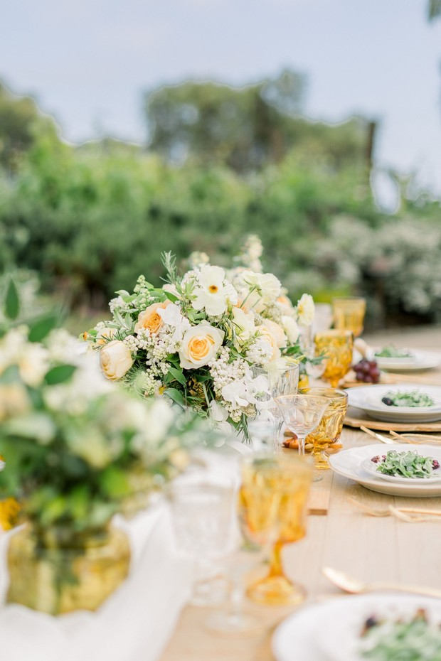 yellow wedding design