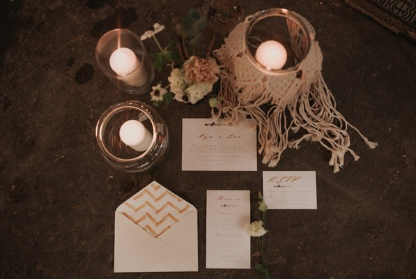 A Wildly Romantic Secret Wedding Inspiration