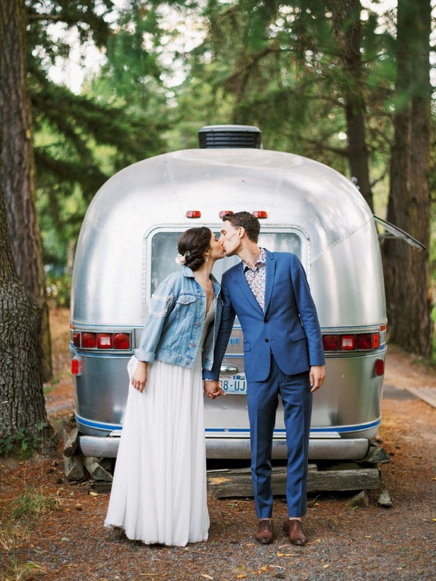 Modern Island Glamping Wedding