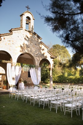 An Elegant and Sweet Traditional Wedding In Greece