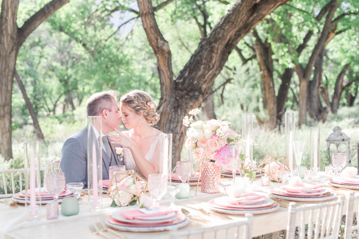 Pink Peony Inspired Spring Wedding Shoot