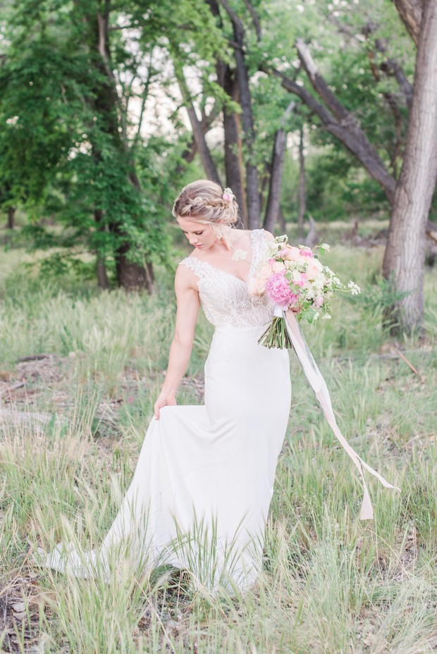 spring time look for your wedding