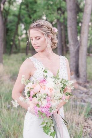 braided bridal hair idea