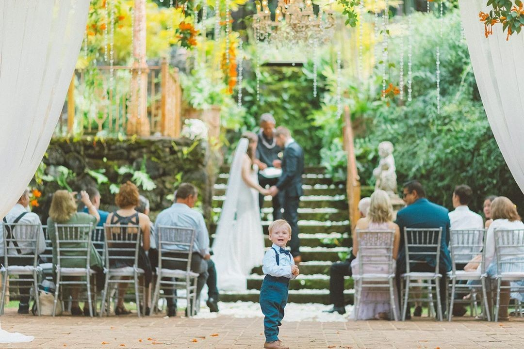 When your little man steals the show #ringbearer �