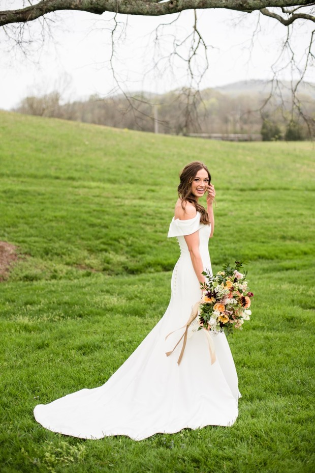 How a Bride Learned to Let Go and Roll With It On Her Wedding Day
