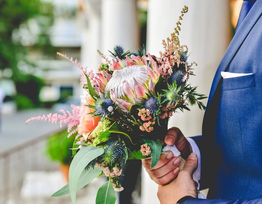 ▪︎Colored wedding bouquet is always stylish and trend. Bohemian style is even better for a summer wedding. Your choice!▪︎