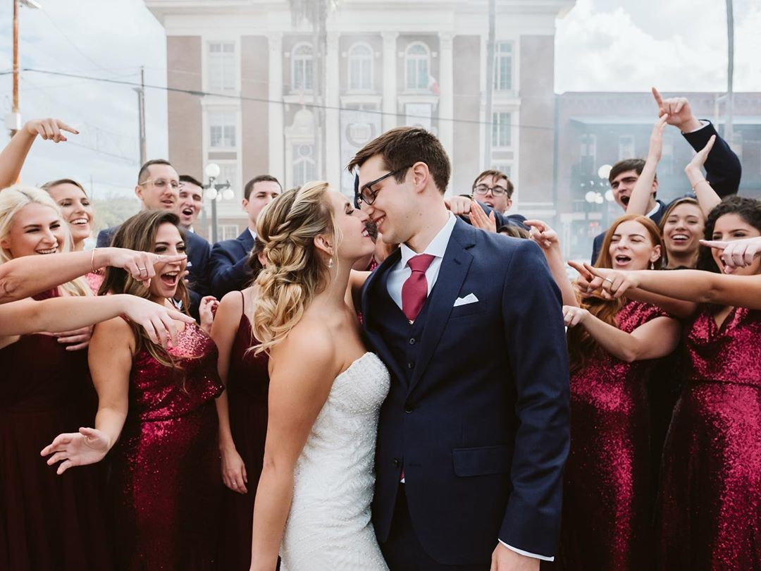 Give us all of the just married kisses, power points, and the fierce friendships you've made along the way.😍