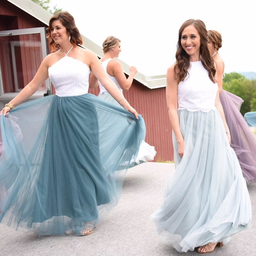 Twirling tulles, beautiful blues, and seriously unstoppable separates.😍