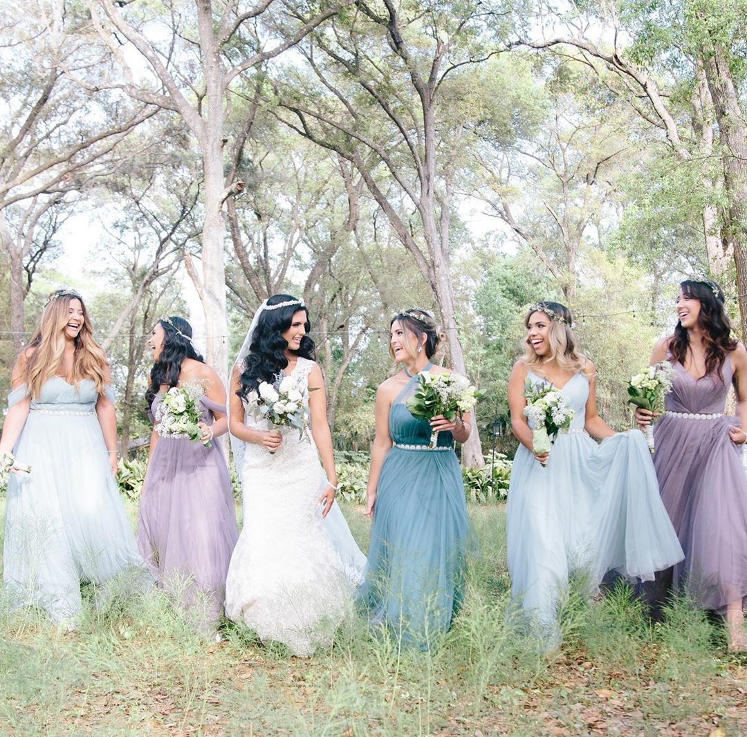 Soft hues, loud laughs, & the most magical looks for the most whimsical weddings.💕