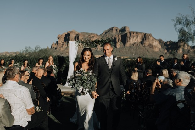 just married in Arizona
