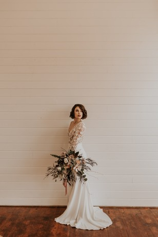 bridal style with vintage vibes