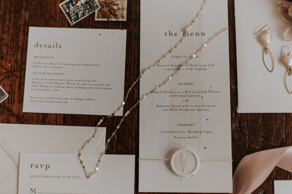 Earthy Modern Wedding Meets Vintage Store Delights