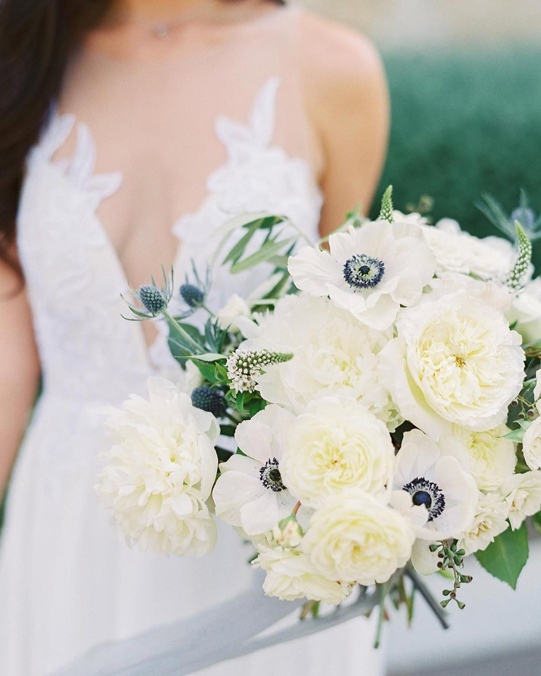 This beautiful wedding, with the sweetest couple, was up on @stylemepretty