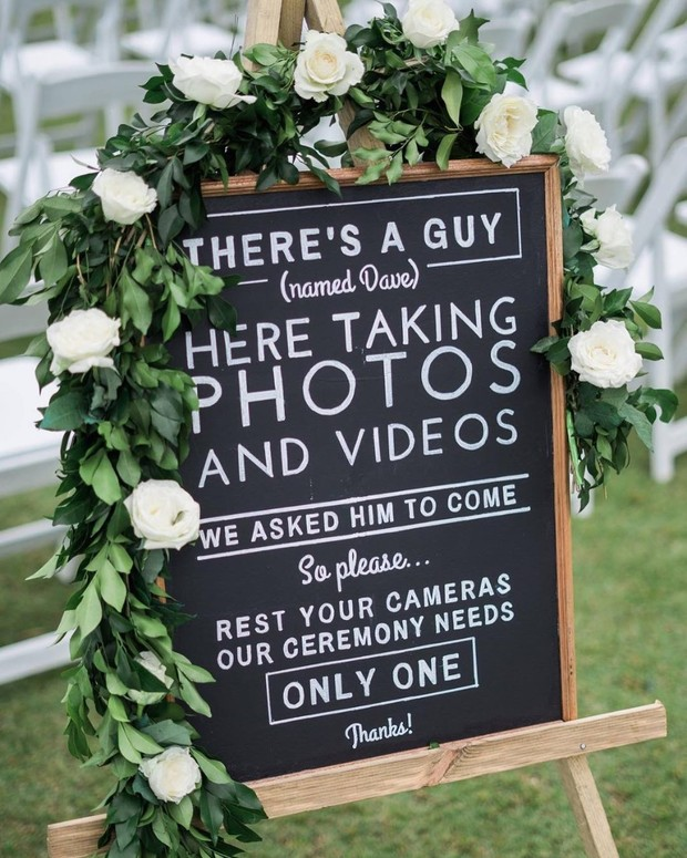 How to Make Sure Your Guests Get the Unplugged Memo