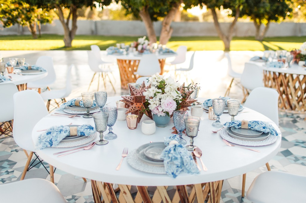 Al fresco dinner under the stars and lush of whimsical Acre venue in Los Cabos