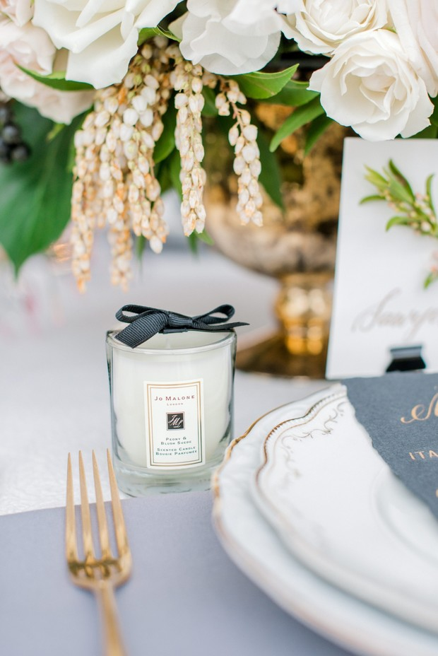 wedding candle favor