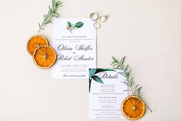 DIY invitation suite