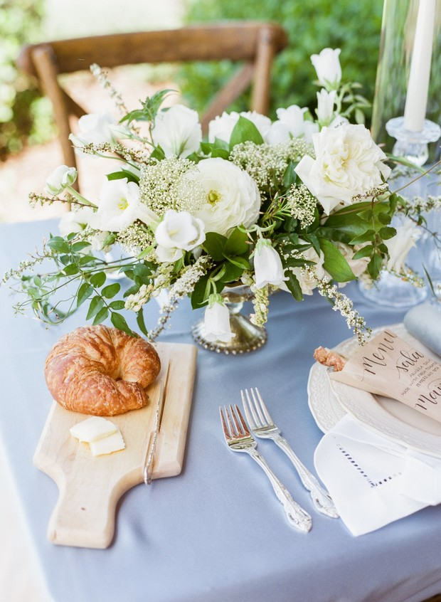French-inspired wedding design
