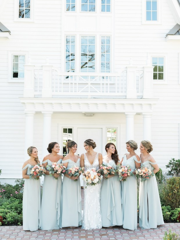 soft sage bridesmaid dresses