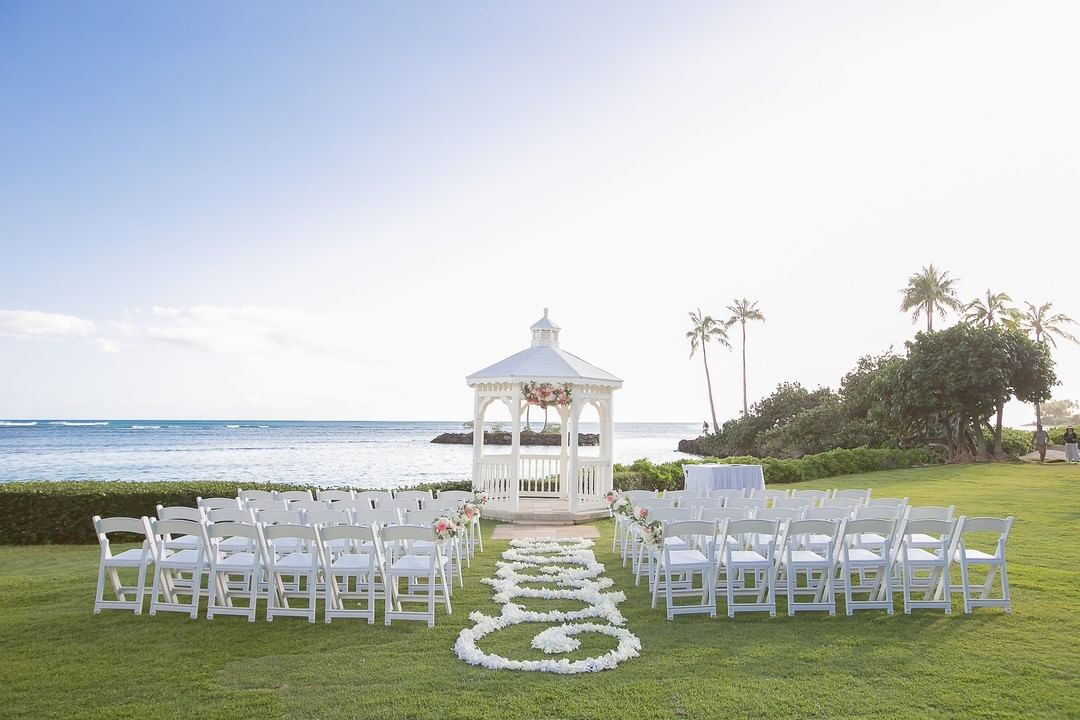 Stunning ceremony views