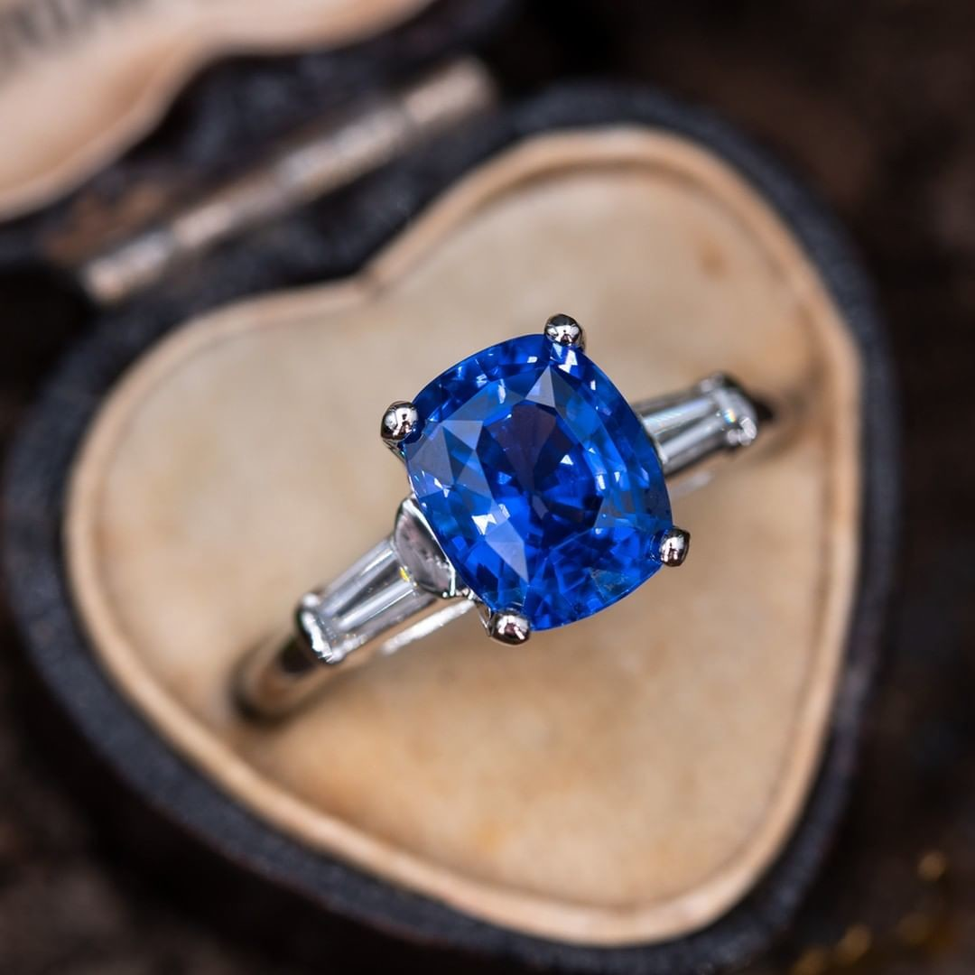 Would you choose a sapphire or a diamond for your ring?