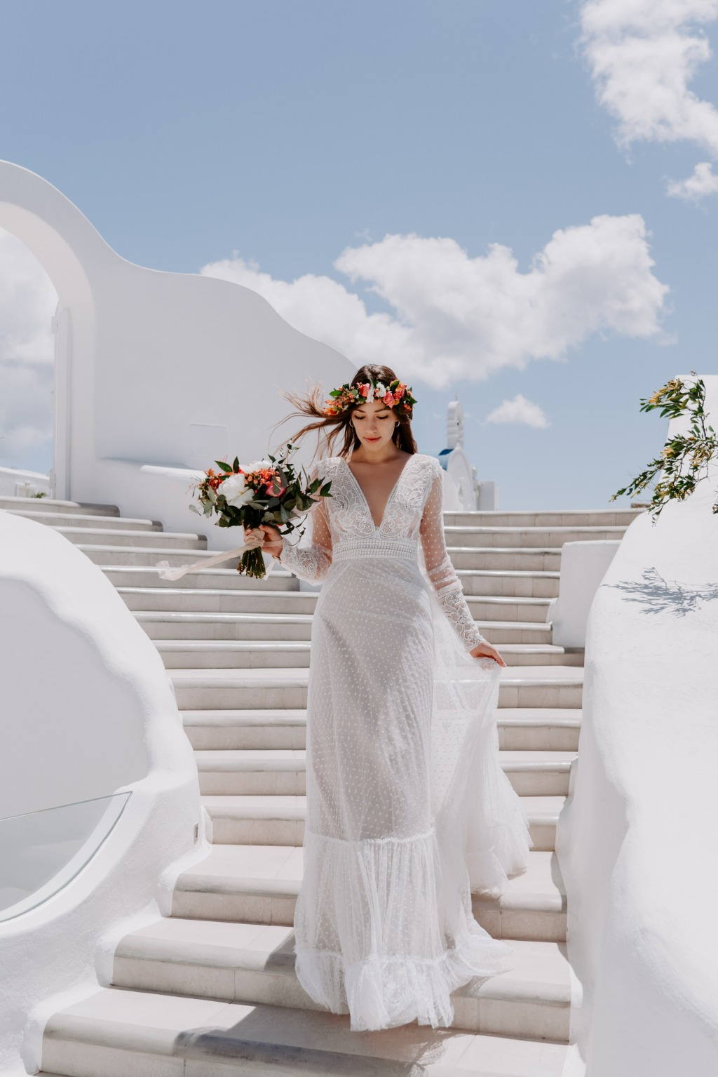 Bride in Mykonos!