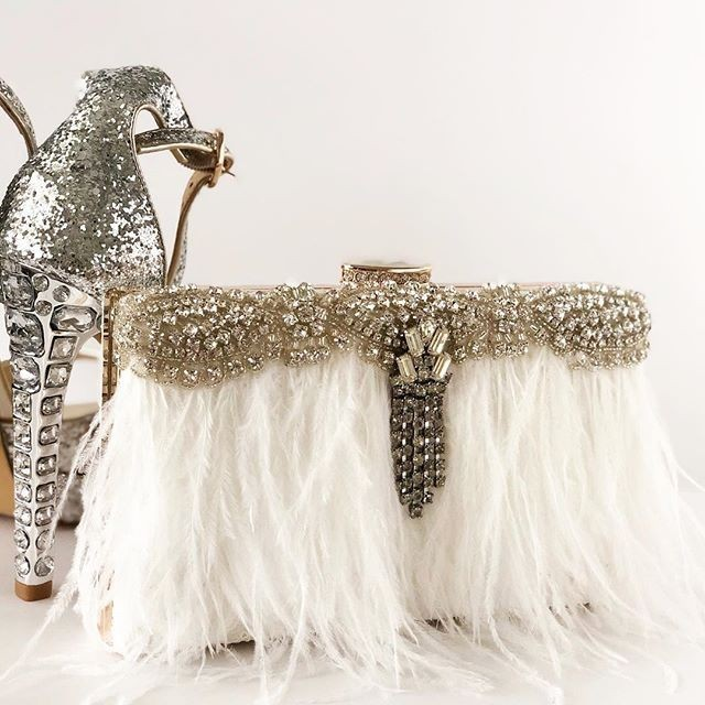 Romantic...Dreamy...and one of a kind. A bride's must have accessory.