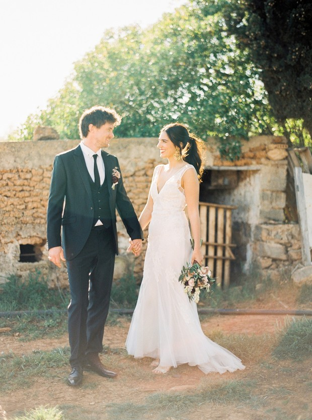 organic farm wedding in Ibiza