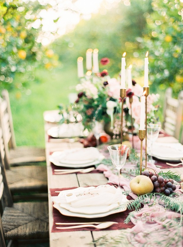 farm wedding design