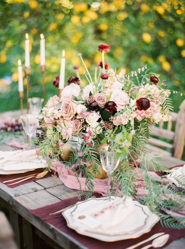 organic farm wedding ideas