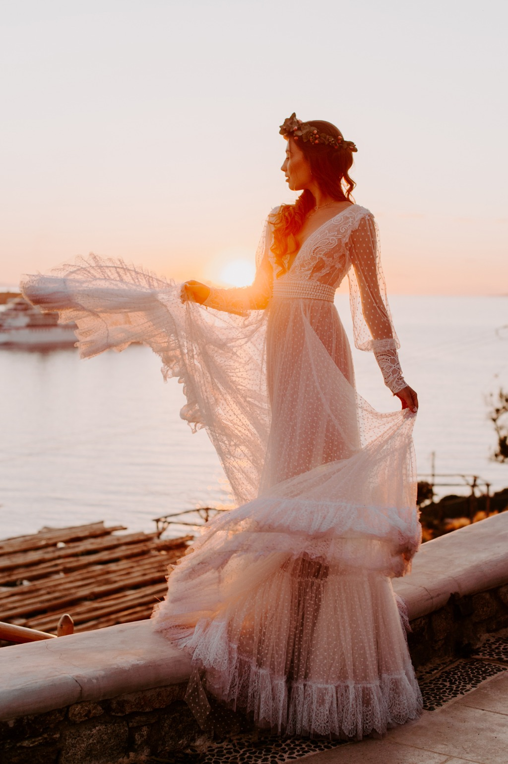 Sunset Bridal Portrait!