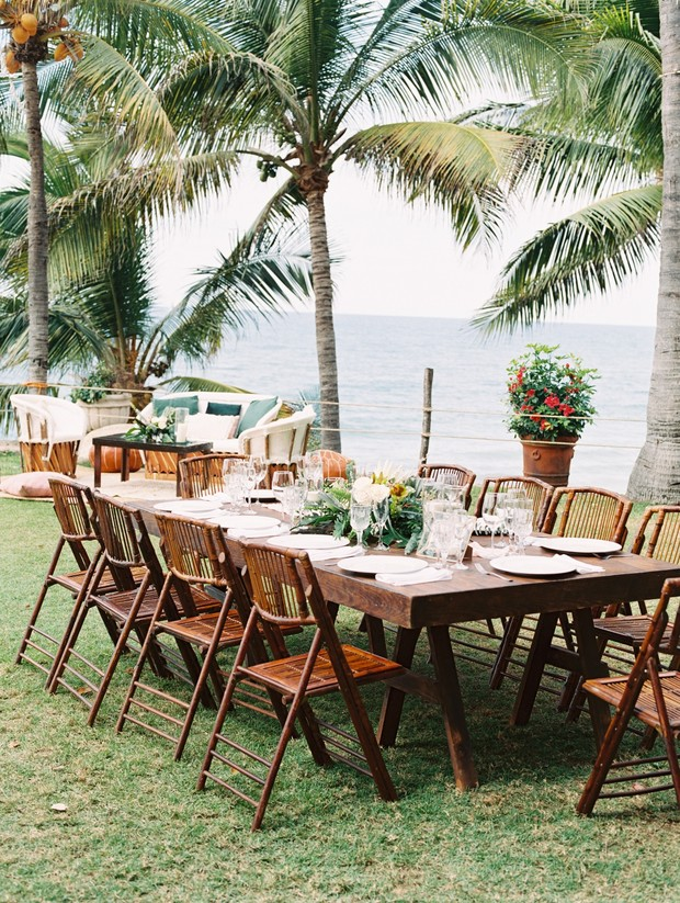 tropical ceremony in Mexico
