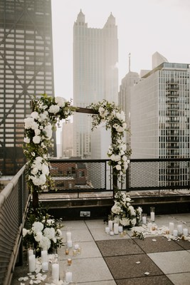 A Surprise Rooftop Proposal In Chicago