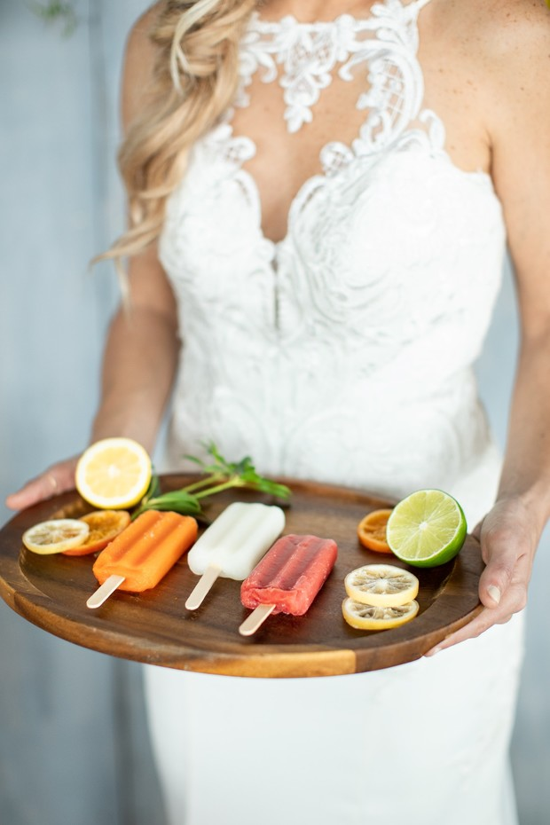 wedding popsicles