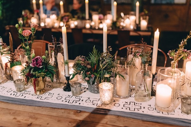 magical wedding centerpiece idea