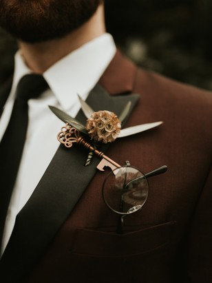 harry potter wedding look for groom
