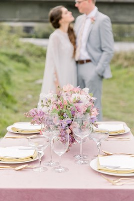 Castle Ruin Wedding Inspiration Straight Out Of A Fairy Tale